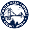 Straits Area Federal Credit Union Logo