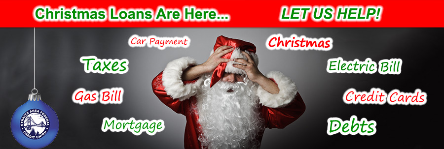 Credit Union Loans For Christmas